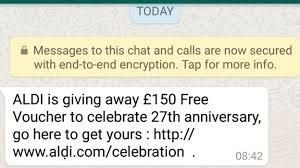 Make Voucher Cool WhatsApp How The Supermarket Voucher Scam Works BBC News