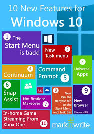 Window 10 Features 10 New Features For Windows 10 And Unveiling The Hololens
