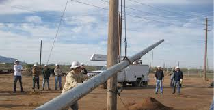 Steel Distribution Poles Help Utilities Reduce Costs And