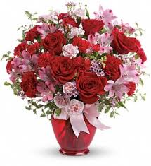 teleflora s blissfully yours bouquet in fayetteville nc always flowers by crenshaw