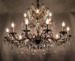 vintage crystal chandelier learn trade secrets restoring old antique brass chandeliers value large size
