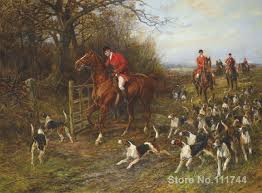 hunting paintings hunter and dogs by heywood hardy modern landscape art high quality hand painted in painting calligraphy from home garden on