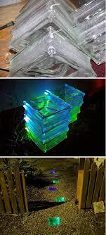yard ideas diy solar landscape lights