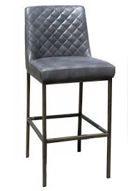 bar stools chairs in usa artefac grey leather backless counter height table and stool gray leather bar stools s11