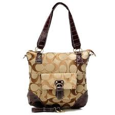 Bag · Coach In Signature Medium Coffee ...