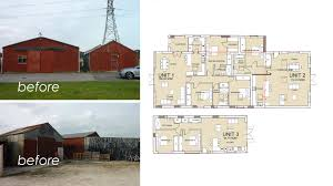 Redundant Barn conversion to 3 residential units