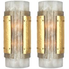 italian art deco murano glass wall sconces