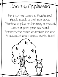 Small Picture Johnny Appleseed Coloring Page At Book Online Inside itgodme
