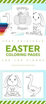 Coloring Pages 53 Tremendous Easter Coloring For Kids Printable