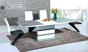 white gloss dining table incredible extending white gloss dining high gloss white dining table pivero high