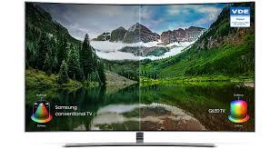 Smart Tivi QLED Màn Hình Cong Samsung 55 Inch QA55Q8CNAKXXV