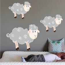 sheep wall art nursery