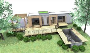 Shipping Container House Designs Container House Design - Container house interior