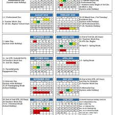 Mcpss Releases 2019 20 School Year Calendar Thewire