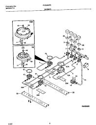 Fcs388weca dual fuel range burner parts diagram