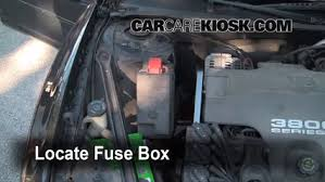 replace a fuse 1998 2002 oldsmobile intrigue 1998 oldsmobile 2002 Oldsmobile Intrigue Specifications at 2002 Oldsmobile Intrigue Fuse Box
