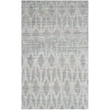 hand woven grey gold area rug black home