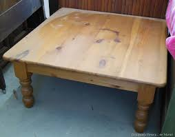 pine coffee table uniquely yours or mine