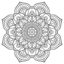 Small Picture Mandala Printable Coloring Pages Free Downloads Coloring Mandala