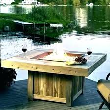 s fire pit table propane outdoor backyard gas with rock glass beads re coffee black rocks tabletop glass fireplace