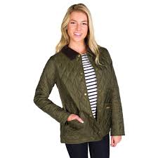 Barbour Annandale Quilted Jacket in Olive Green & Annandale Quilted Jacket in Olive Green by Barbour - 1 Adamdwight.com