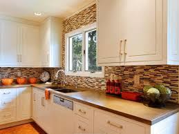 White Cabinets Backsplash White Kitchen Cabinets Tile Backsplash Quicuacom