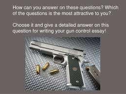 anti gun control essay titles celtic essay anti gun control essay titles