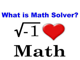 what is math solver