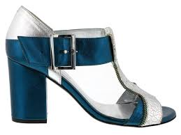 Zadig Voltaire T Strap Leather Sandal