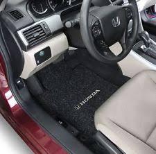 honda accord coupe carpet floor mats 2pc fronts fits 2008 2016 w logo