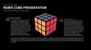 Rubiks Cube Powerpoint Presentation Template Keynote Slide