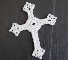 Free Crochet Cross Bookmark Pattern