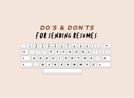 The Dos And Don Ts Of Writing A Resume Song Of Style