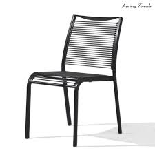 outdoor cafe chairs. Freya Side Chair PVC Outdoor Cafe Chairs .