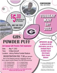 powder puff football flyers pin by michelle christerson on cheerleading pinterest powder