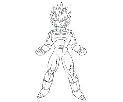 Dragon Ball Z Coloring Pages Printable Dragon Ball Z Coloring Pages