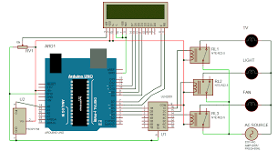 ir remote controlled home automation circuit diagram
