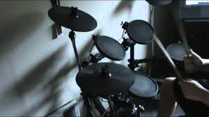 simmons electronic drums sd7pk. i hate everything about you drum cover on simmons sd7pk electronic drums