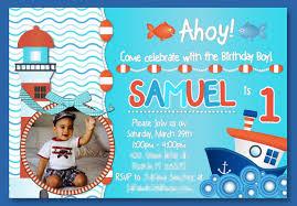 birthday invitation cards for boy
