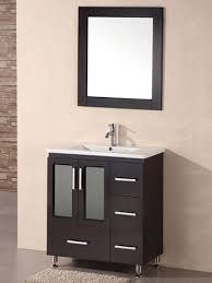 18 inch depth bathroom vanity
