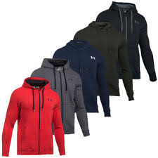 under armour zip up. under armour 2017 mens rival fitted full zip hoodie training hooded jacket up