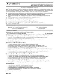 Sample Resume For Administrative Assistant Job Resume Administrative Assistant Job Description For Resume Executive 22