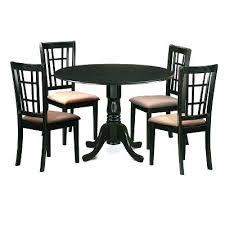 east west furniture dining set east west furniture 5 piece drop leaf dining table set with