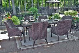 patio dining set for 6 collection 6 person all weather wicker luxury patio furniture dining set patio dining set for 6 6 piece round