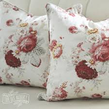 sew a piped zippered pillow cover tutorial the diy mommy