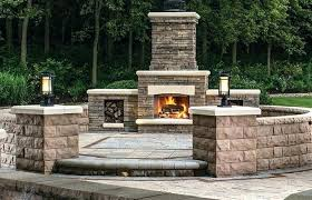 outdoor patio and backyard medium size corner fireplace patio covered pizza oven building outdoor unfinished pavilions