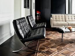 knoll international barcelona chair relax leather venezia