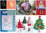 Новогодние поделки для детей 5 лет