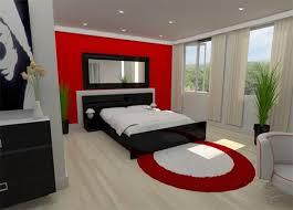 Superior Red Black White Room ...
