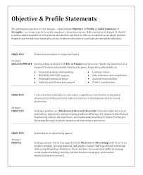 The Best Objective For Resumes Marketing Resumes Entry Level Resume Objectives Objective For